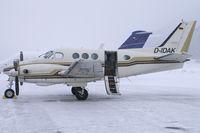 D-IDAK @ LSZS - Transavia Luftfahrtunternehmen Beech 90 King Air - by Thomas Ramgraber-VAP