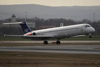 LN-RMD @ VIE - MD-82