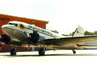N308SF @ FTW - Skyfreighters DC-3 at Mecham Field - by Zane Adams
