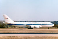 73-1676 @ NFW - E-4B at Carswell AFB
