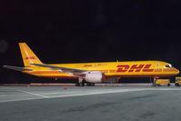 OO-DPN @ VIE - European Air Transport Boeing 757-200 in DHL colors