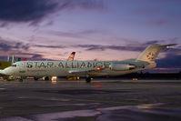 OE-LVG @ VIE - Austrian Arrows Fokker 100
