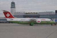 HB-IYS @ VIE - Swiss Bae 146