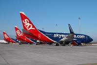OM-NGF @ VIE - Skyeurope Boeing 737-700