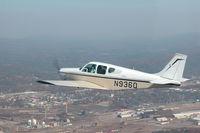 N936Q @ KGAD - Beech Debonair above Gadsden Al - by Nikki Freeman