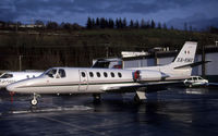 N850PM @ KBFI - KBFI (Seen here as XA-KMX this aircraft was replaced by a C650 also registered XA-KMX the C550 is currently registered N850PM as posted for C/N accuracy)