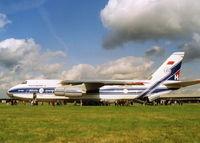 CCCP-82043 @ EGLF - ON DISPLAY AT FARNBOROUGH AIR SHOW - by BIKE PILOT