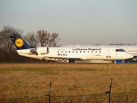 D-ACJI @ EGCC - Lufthansa Regional operated by CityLine - by chris hall