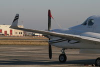 OO-GMJ @ EBBR - parked on General Aviation apron (Abelag) - by Daniel Vanderauwera