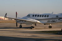OO-GMJ @ EBBR - parked on General Aviation apron (Abelag) - by Daniel Vanderauwera