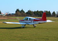 G-BCRR @ EGHP - TAXYING OUT TO DEPART RUNWAY 03 - by BIKE PILOT