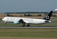 OE-LAY @ VIE - Austrian Airlines Boeing 767-3Z9(ER)