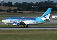 ES-ABL @ VIE - Estonian Air Boeing 737-5L9