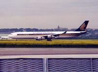9V-SJA @ LFBO - Arriving from photo flight test... - by Shunn311