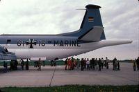61 16 - Breguet Br.1150 Atlantic of Marineflieger (German Naval Air Arm) at Schleswig Jagel Airbase 1978
