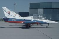 0102 @ VIE - Slovak Air Force Let 39 - by Yakfreak - VAP