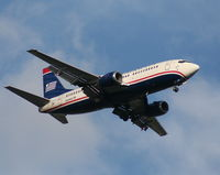 N504AU @ MCO - US Airways 737-300