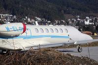 M-ELON @ LOWI - Cessna 525B CitationJet CJ3