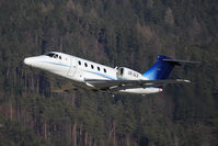 OE-GLS @ LOWI - Cessna Aircraft Company 650 - by Juergen Postl