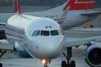 OE-LDD @ LOWI - Airbus A319-112