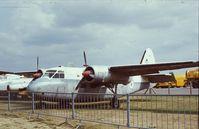 WF137 - Percival P.57 Sea Prince C.1 outside the Fleet Air Arm Museum, Yeovilton