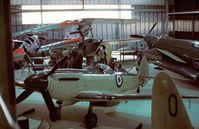 SX137 - Supermarine Seafire F XVII at the Fleet Air Arm Museum, Yeovilton