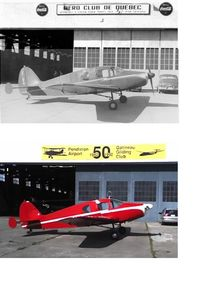 CF-CFW - Photographs take about 60 years apart - by Ronald Smith