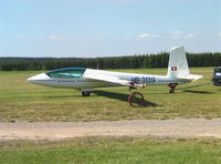 HB-3139 @ EDKV - Marganski Swift S-1 at Dahlemer-Binz airfield