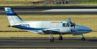 N36PB @ KPDX - Taxi for departure