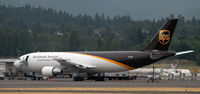 N130UP @ KPDX - Sitting on the cargo ramp at PDX