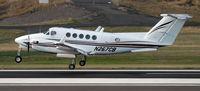 N267CB @ KPDX - Landing 28R at PDX