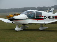 G-BBCH @ EGHP - NEW YEARS DAY FLY-IN - by BIKE PILOT