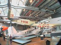 F-PCDA - Klemm L 25 at the Deutsches Technikmuseum, Berlin