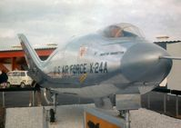 66-13552 @ IAD - On display in the static park of Transpo 72 at Dulles Airport. Spurious serial number given to Martin SV-5J to represent the X-24A lifting body. - by Peter Nicholson