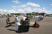 G-AYJY @ EGUB - RAF Benson Families Day, RAF Benson, Oxfordshire, England - August 2008 - by Steve Staunton