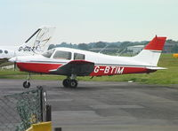 G-BTIM @ EGHH - Piper PA-28-161 at Bournemouth Airport