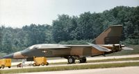 71-0893 @ IAD - Flown at Transpo 72 at Dulles Airport was this F-111F without any unit markings - later known to have served with 48th TFW at RAF Lakenheath. - by Peter Nicholson