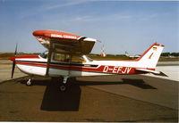 D-EFJV @ ALTENBURG - Reims Cessna F.172 N Skyhawk II - by Andreas Seifert