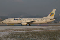 UR-VVJ @ SZG - Aeroswit Boeing 737-400
