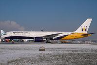 G-MONK @ SZG - Monarch Boeing 757-200