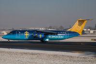 SE-DSU @ SZG - Malmoe Aviation Bae 146