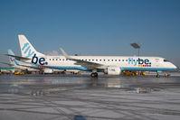 G-FBEN @ SZG - Fly Be Embraer 190