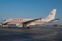 VP-BIQ @ SZG - Rossija Airbus 319