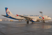 VP-BPU @ SZG - Ural Airlines Airbus 320