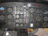 03426 @ ESPA - Cockpit , Huey , Lulea AFB F21 Norbotten wing, SWAF museum - by Henk Geerlings