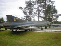 35952 @ ESPA - Lulea AFB F21 Norbotten wing, SWAF museum - by Henk Geerlings