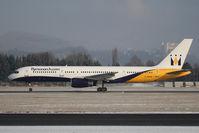 G-MONK @ SZG - Boeing 757-2T7 - by Juergen Postl