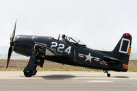 N224RD @ KCNO - 1948 Grumman F8F-2  C/N 121748