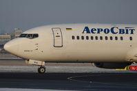 UR-VVJ @ SZG - Boeing 737-448