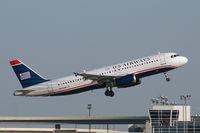 N625AW @ DFW - US Airways departing DFW